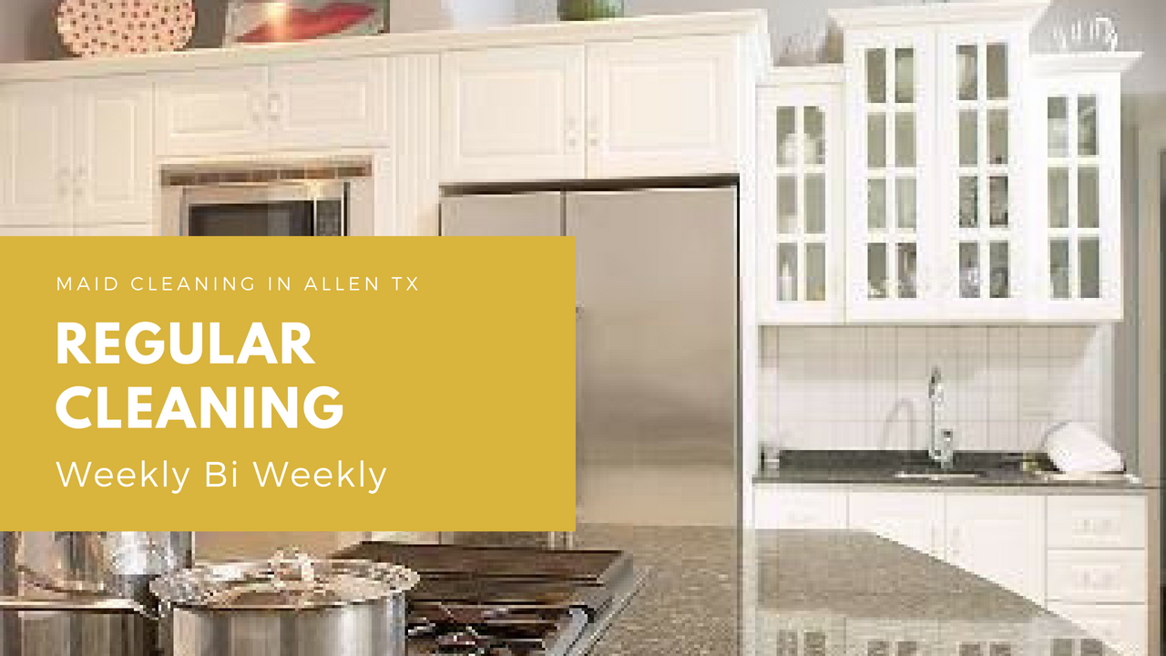 Regular Cleaning Services in Plano Tx