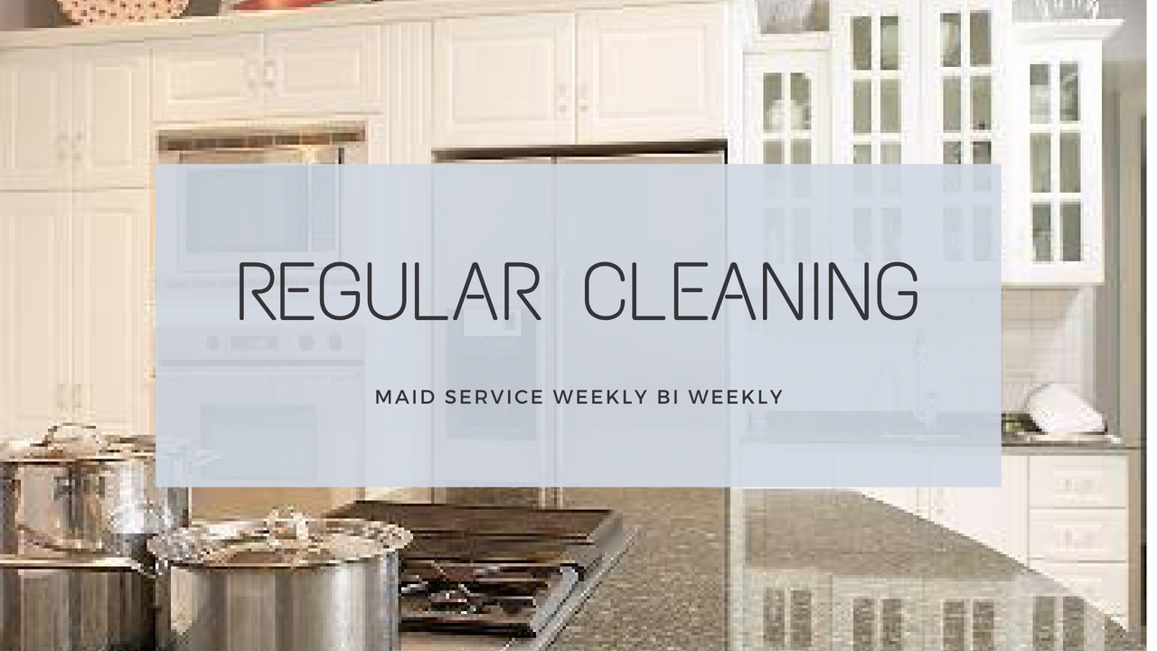 Regular Cleaning in Plano Tx.