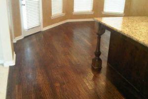 Hardwood Floors cleaning